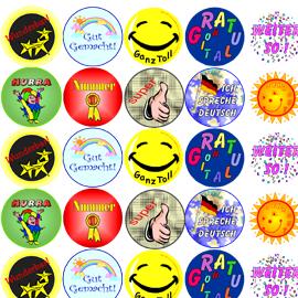 stickers-german