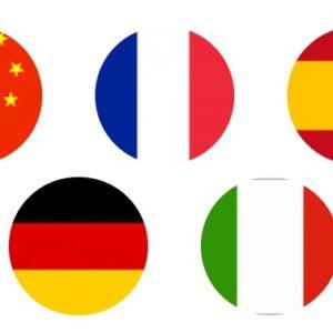 LCF Languages French, Spanish, Mandarin, Italian, German